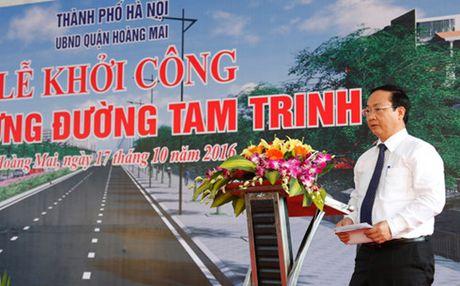 Ha Noi khoi cong xay dung duong Tam Trinh - Anh 3