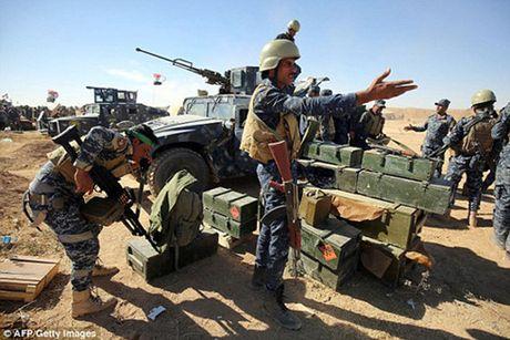 Tran chien gianh lai Mosul: Chien thang rat gan nhung kho khan rat lon - Anh 1