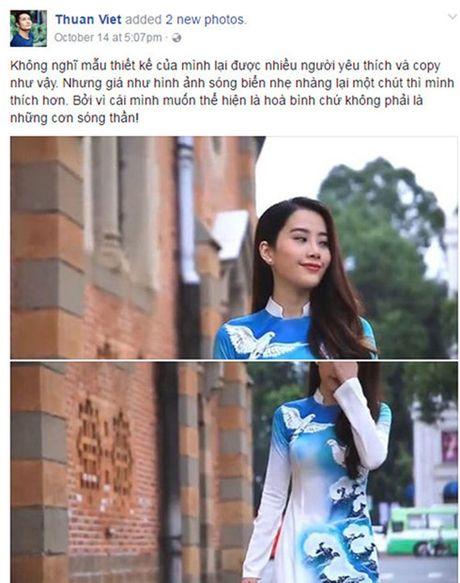 Nam Em xin loi vi bi 'to' mac ao dai nhai tai Hoa hau Trai dat - Anh 1
