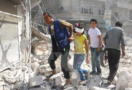Nga cong bo lenh ngung ban keo dai 8 gio tai thanh pho Aleppo - Anh 1