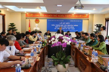TTXVN ky ket hop tac truyen thong voi Uy ban Nhan dan tinh Lam Dong - Anh 5