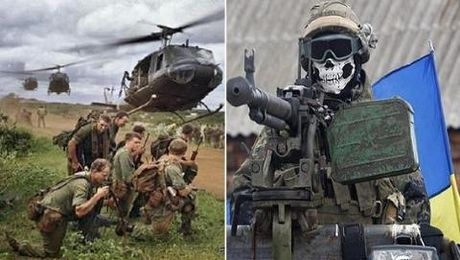 Hoi chung Chien tranh Viet Nam tiep tuc lan sang Donbass - Anh 1