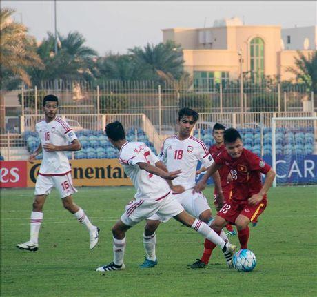 U19 Viet Nam mat 2 tru cot o tran dau gap U19 Iraq - Anh 1