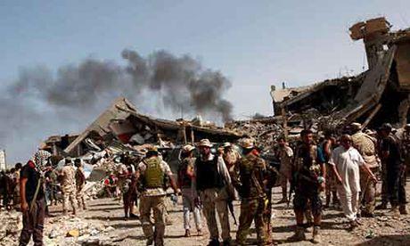 Libya danh duoi phien quan IS cuoi cung khoi thanh pho Sirte - Anh 2
