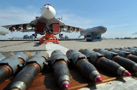 MiG-29 Syria mang ten lua R-77, My-Israel khong dam lam lieu? - Anh 4