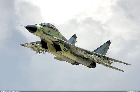 MiG-29 Syria mang ten lua R-77, My-Israel khong dam lam lieu? - Anh 8