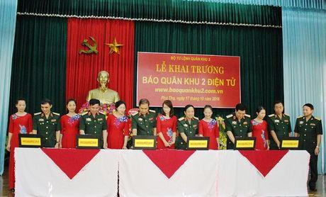 Khai truong Bao Quan khu 2 dien tu - Anh 1