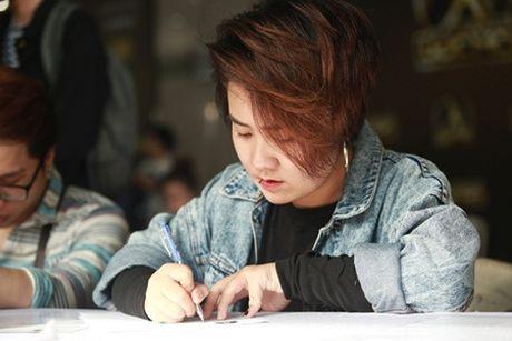 "Chung Huyen Thanh dong vien ban trai thu suc voi cuoc thi ""Khoi dau uoc mo"" - Anh 7"