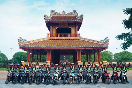 Hanh trinh Honda WINNER 150 - chinh phuc Cuc Dong - Anh 6
