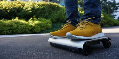 Walkcar - xe dien giong Ninebot nhung chi nho bang laptop 13 inches, chay duoc 60 phut - Anh 3