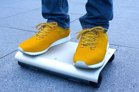 Walkcar - xe dien giong Ninebot nhung chi nho bang laptop 13 inches, chay duoc 60 phut - Anh 4