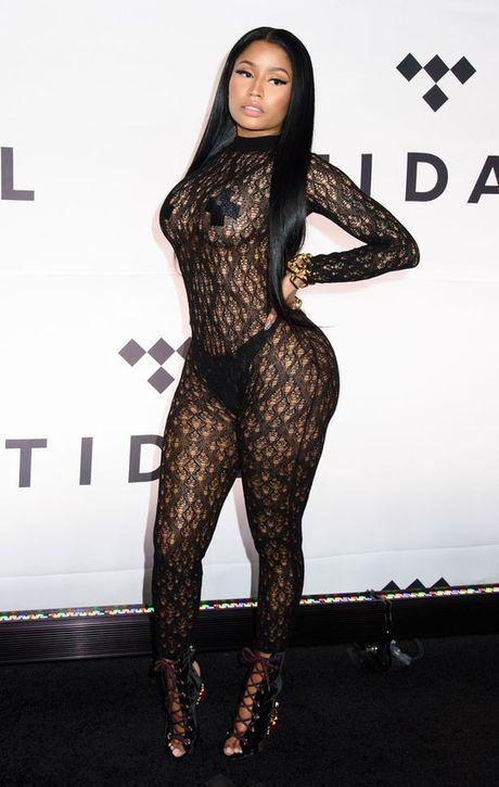 Vong 3 rapper Nicki Minaj soan ngoi Kim sieu vong 3 - Anh 1