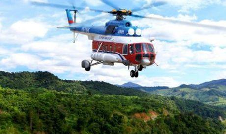 May bay truc thang cho 3 nguoi nghi roi o Ba Ria - Vung Tau - Anh 1