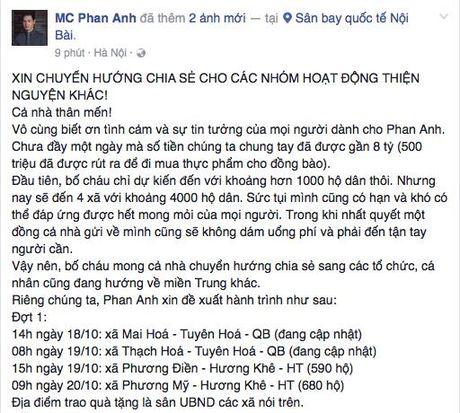 Don dap nhung chuyen thien nguyen vao ron lu mien Trung - Anh 1