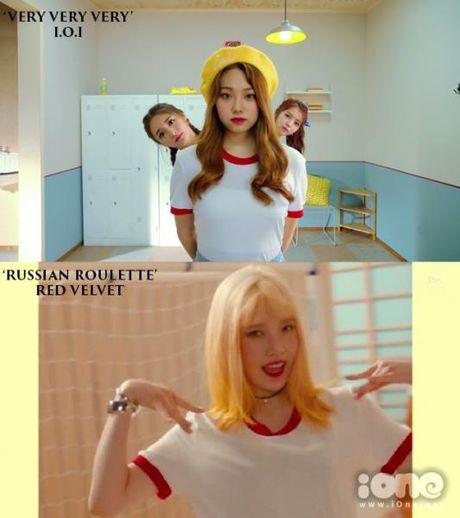 MV moi cua I.O.I bi nghi triet de bat chuoc Red Velvet - Anh 2
