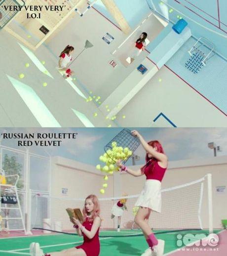 MV moi cua I.O.I bi nghi triet de bat chuoc Red Velvet - Anh 3