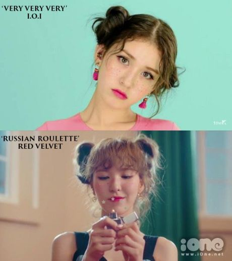MV moi cua I.O.I bi nghi triet de bat chuoc Red Velvet - Anh 4