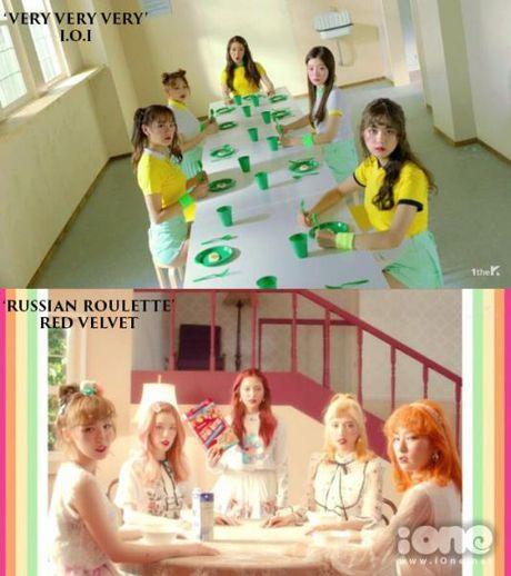 MV moi cua I.O.I bi nghi triet de bat chuoc Red Velvet - Anh 5
