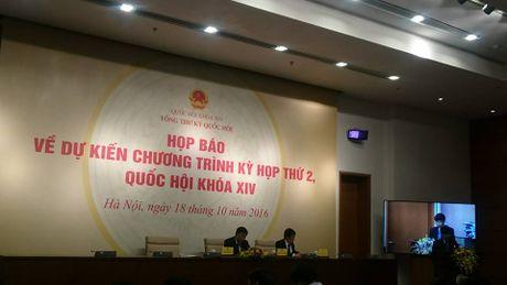 Ky hop thu 2, QH danh phan lon thoi gian cho cong tac lap phap - Anh 1