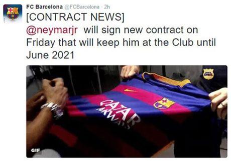 Barca: Neymar luong sau Messi, gia len 250 trieu euro - Anh 2