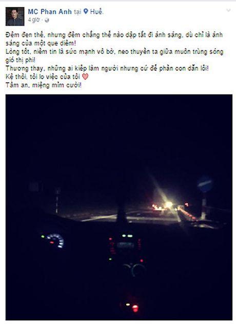 Sau 1 ngay, Phan Anh keu goi duoc 8 ty dong ung ho dong bao mien Trung - Anh 3