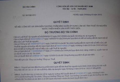 Bo Tai chinh se phai khac phuc hau qua vi quyet dinh trai luat - Anh 1