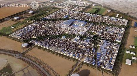 Trai nghiem cuoc song do thi ben vung Masdar City - Anh 1
