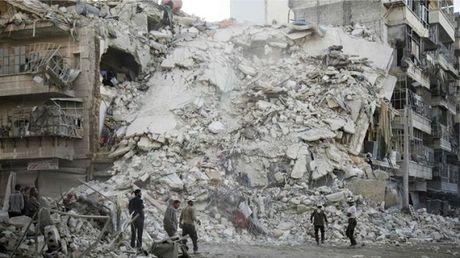 Nga, Syria ngung ban o Aleppo - Anh 1