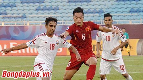 Hoa U19 UAE, U19 Viet Nam van rong cua vao tu ket - Anh 2