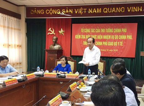 Vu to cao Vu truong Pham Van Tac: Bo Y te cho ket luan cua Uy Ban Kiem tra Dang uy Khoi cac co quan TW - Anh 1