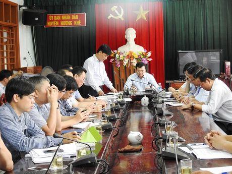 Thuy dien Ho Ho chua phoi hop chat che voi dia phuong khi xa lu - Anh 1