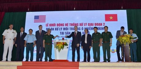 Viet Nam va Hoa Ky khoi dong xu ly nhiet giai doan cuoi cung tai Da Nang - Anh 1