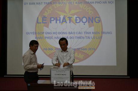 Uy ban MTTQ TP Ha Noi keu goi nguoi dan ung ho dong bao mien Trung - Anh 1