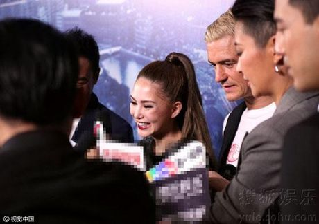 Orlando Bloom nhin Con Lang dam duoi, Chau Kiet Luan khong thich dieu nay - Anh 4