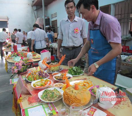 Thanh Chuong to chuc hoi thi 'Qui ong vao bep' - Anh 1