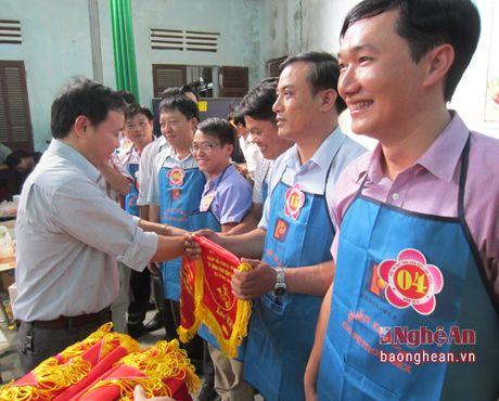 Thanh Chuong to chuc hoi thi 'Qui ong vao bep' - Anh 2