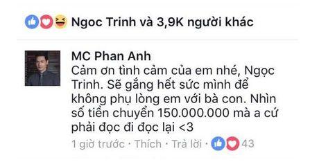 Ngoc Trinh va su that dang sau cau chuyen bi nghi 'lam mau' 150 trieu dong - Anh 4