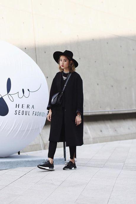Ngay dau tham gia Seoul Fashion week, Min lot top sao dep cua bao Han - Anh 11