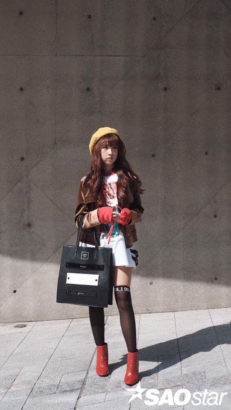 Ngay dau tham gia Seoul Fashion week, Min lot top sao dep cua bao Han - Anh 6