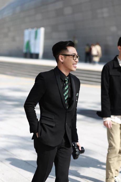 Ngay dau tham gia Seoul Fashion week, Min lot top sao dep cua bao Han - Anh 7