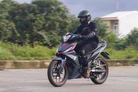 Honda Winner 150 tiep tuc gay an tuong trong chang chinh phuc cuc Dong - Anh 11