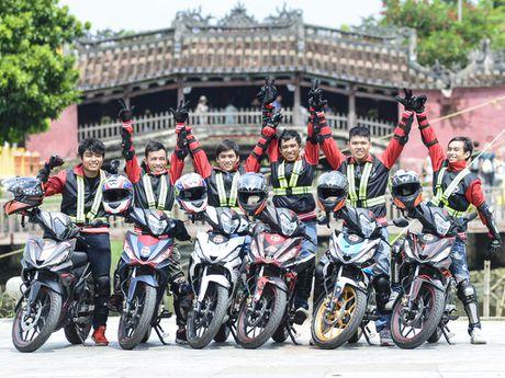 Honda Winner 150 tiep tuc gay an tuong trong chang chinh phuc cuc Dong - Anh 41