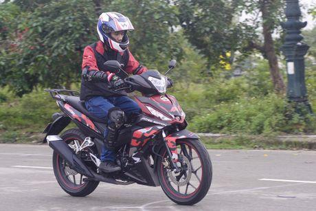Honda Winner 150 tiep tuc gay an tuong trong chang chinh phuc cuc Dong - Anh 9