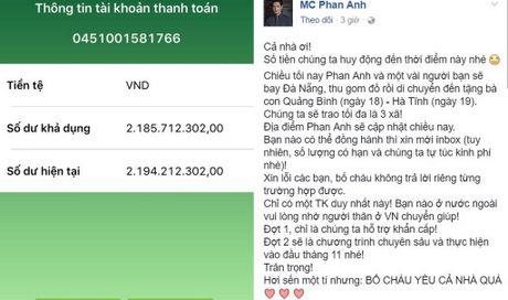 Trong 48 tieng, MC Phan Anh van dong 10 ti dong giup dan mien Trung bi lu - Anh 3
