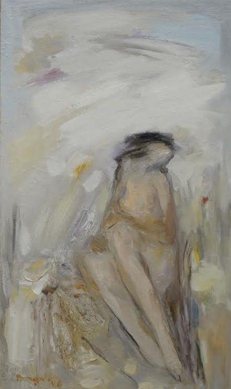 14 hoa si cung trung bay tranh nude - Anh 1