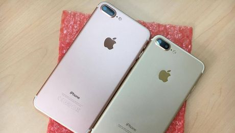 iPhone 7 Plus nhai giong that 99% dang tra tron thi truong - Anh 1