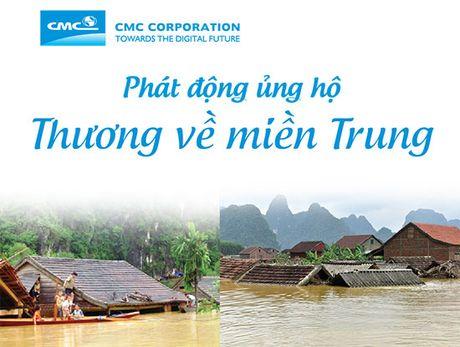 Sep CMC gui thu cho 2.000 nhan vien keu goi 'Thuong ve mien Trung' - Anh 1