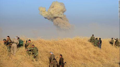 Ngay dau tai chiem Mosul tu IS: Gianh lai 200 km2 dat - Anh 5