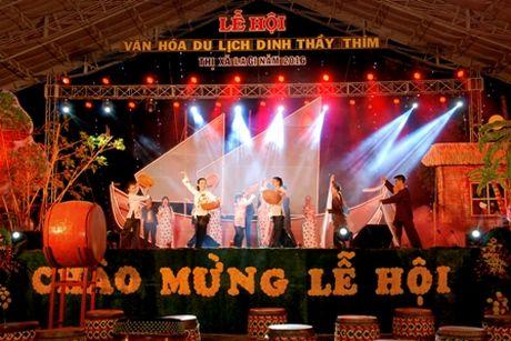 Binh Thuan: Khai hoi van hoa du lich Dinh Thay Thim thi xa Lagi 2016 - Anh 1