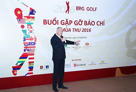 2016 BRG Golf Hanoi Festival: Ngay hoi golf dac biet - Anh 1